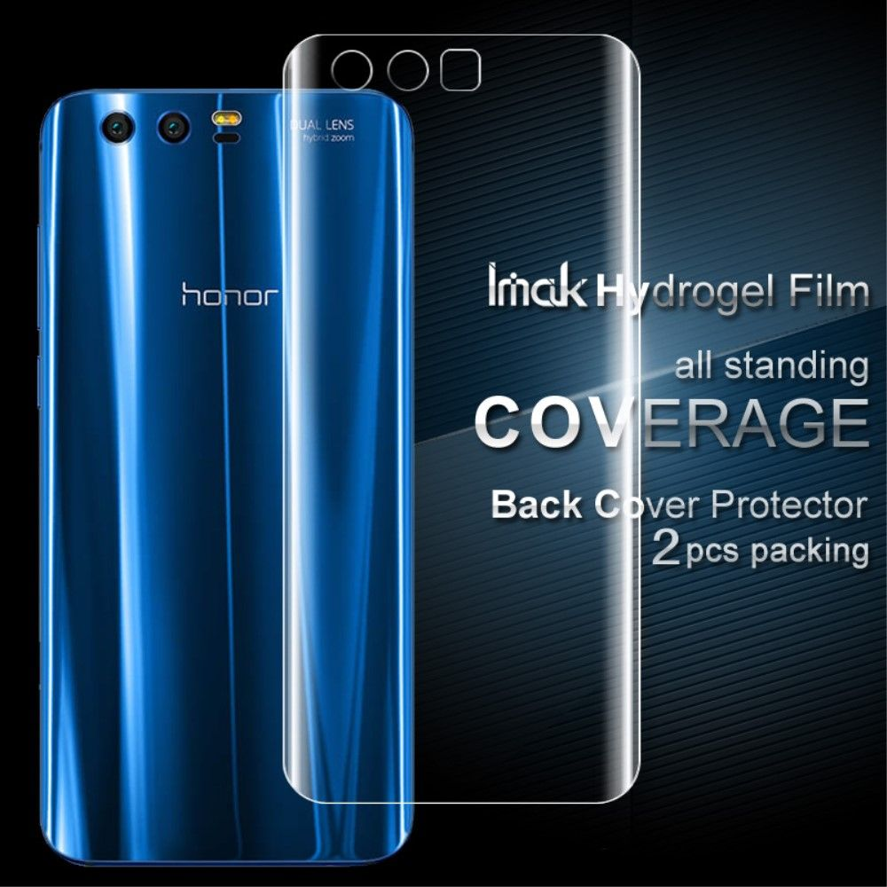 Image of   Huawei Honor 9 - IMAK Beskyttelsesfilm til bagside (2 stk.)
