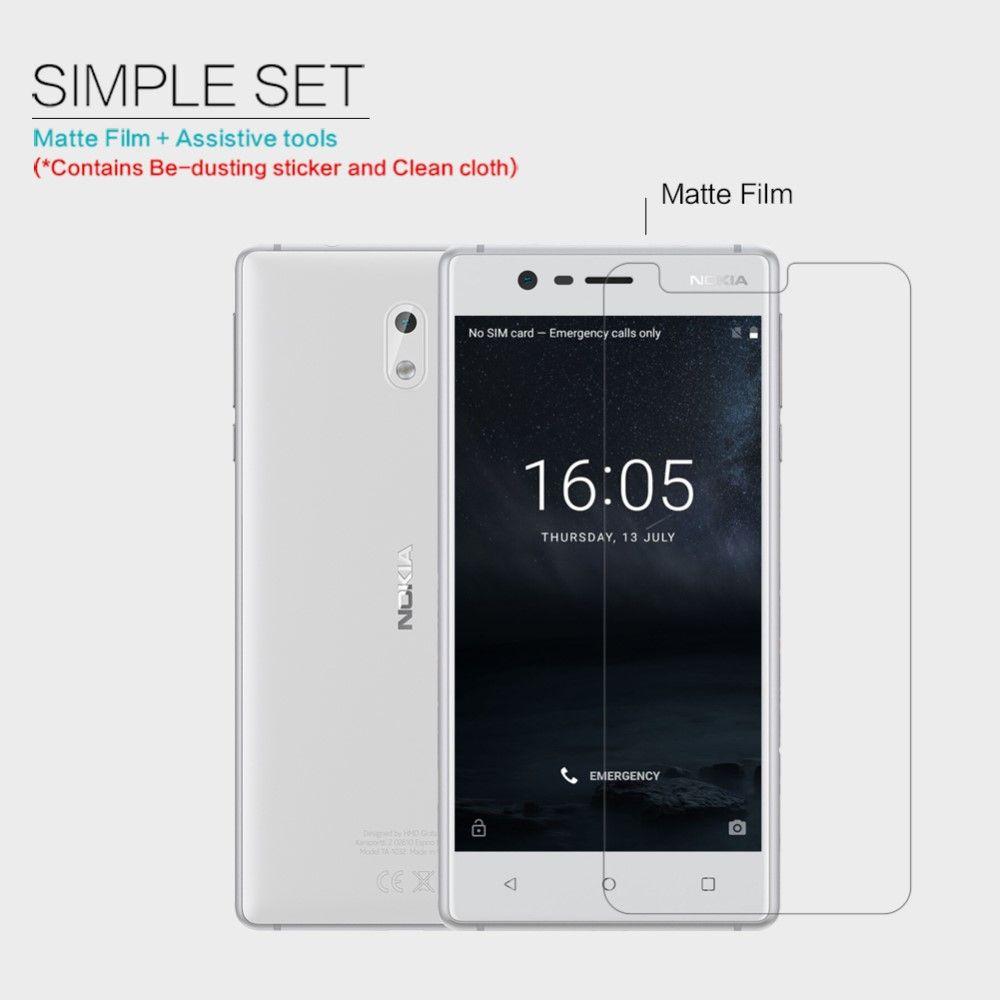 Nokia 3 - Beskyttelsesfilm NILLKIN mat LCD
