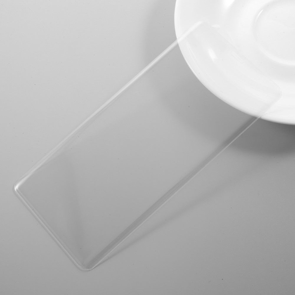 Image of   Galaxy Note 8 - Hærdet panserglas komplet dækning - Transparent