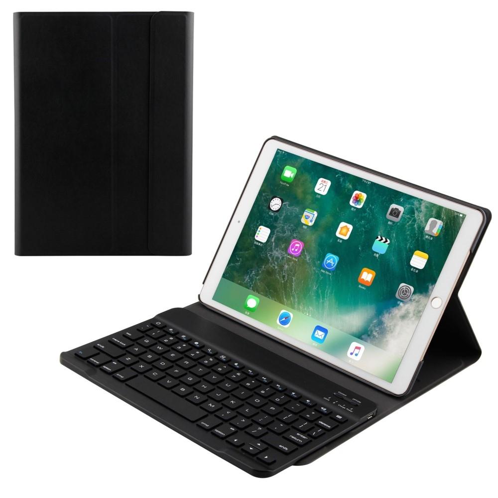 Image of   iPad Air 10.5 (2019) / Pro 10.5 - Bluetooth/trådløs Tastatur DANSK layout m/aftagelig etui/cover - Sort