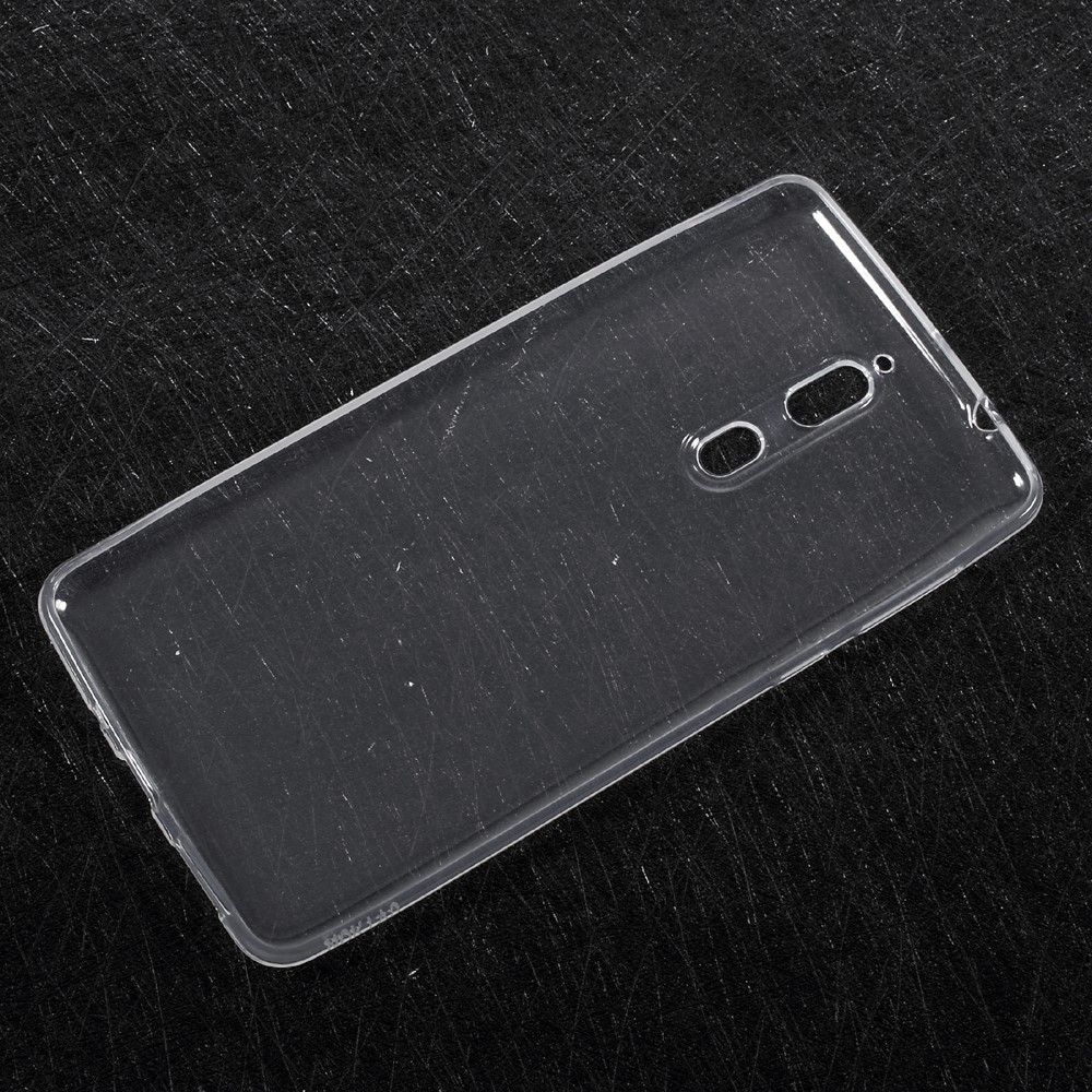 Nokia 8 - Blødt TPU cover - Transparent