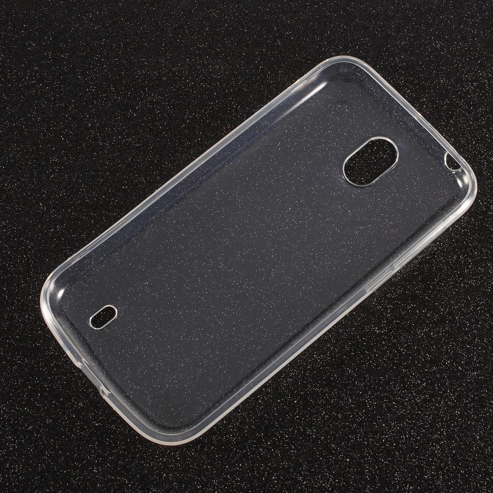 Nokia 1 - Blødt gummi cover / etui - Transparent