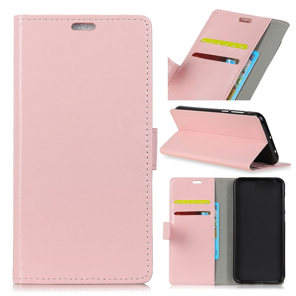 Nokia 2.1 - Læder pung / cover - Pink