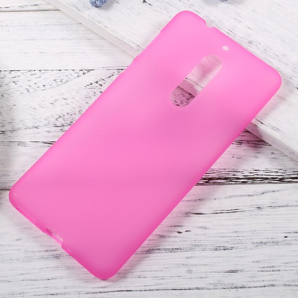 Nokia 5 - TPU gel cover dobbeltsidet - Rosa