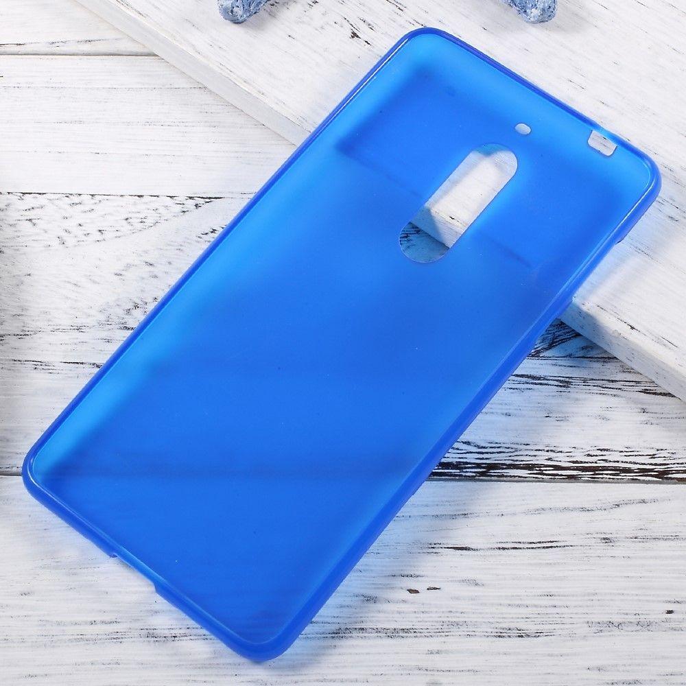 Nokia 5 - TPU gel cover dobbeltsidet - Blå