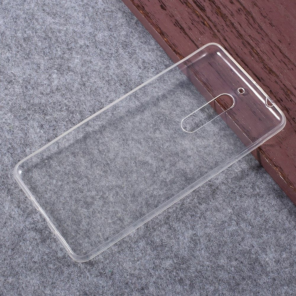 Nokia 5 - TPU blødt gel cover - Transparent