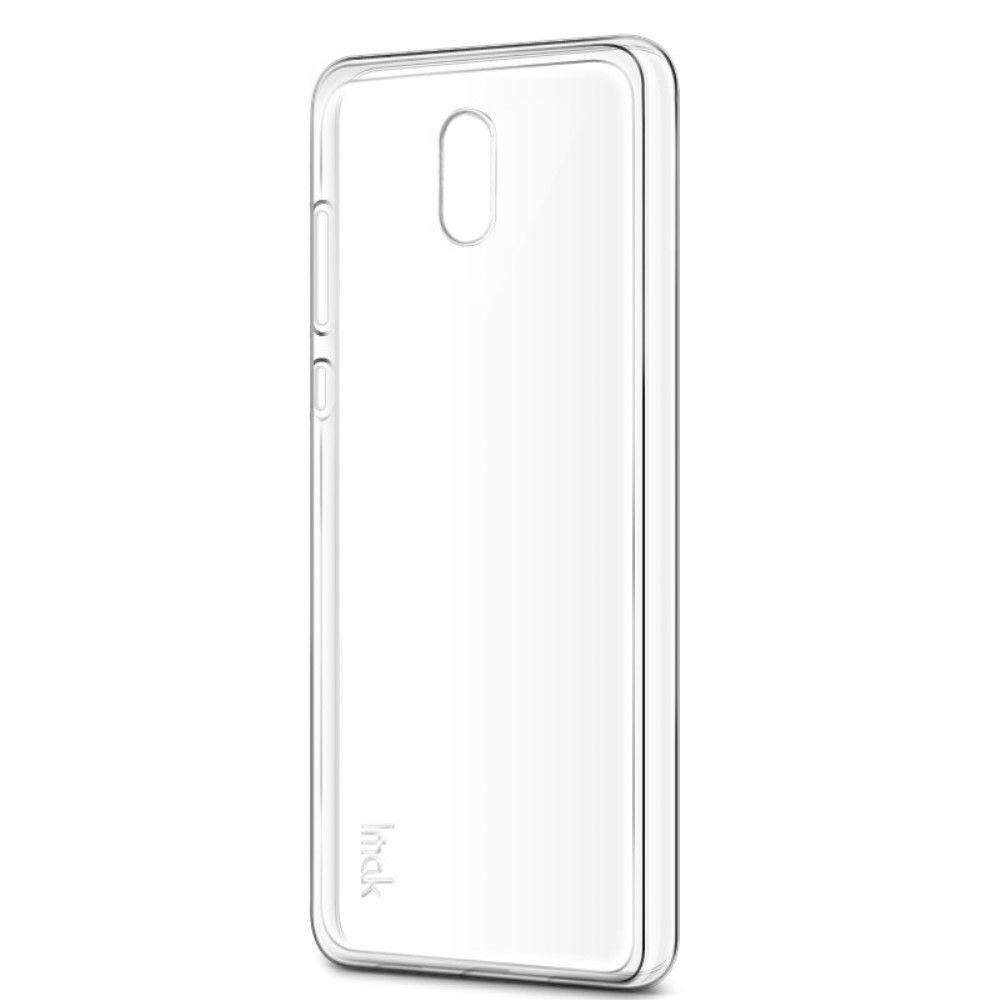 Image of   Nokia 3 - TPU blødt cover IMAK inkl. beskyttelsesfilm