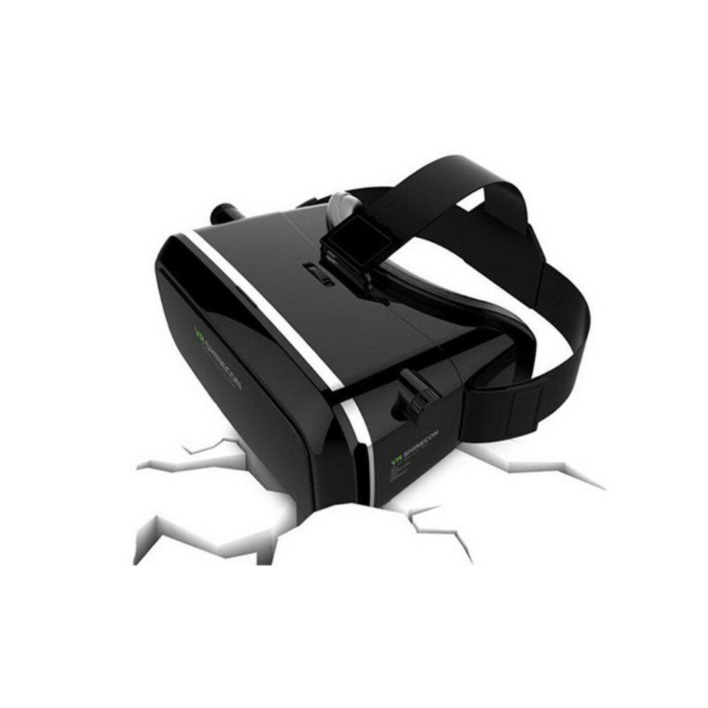 VR SHINECON virtual reality 3D briller med Bluetooth remote - Sort
