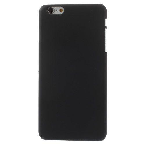 Image of   iPhone 6s Plus/6 Plus - Gummibelagt Hard Plastik Etui - Sort
