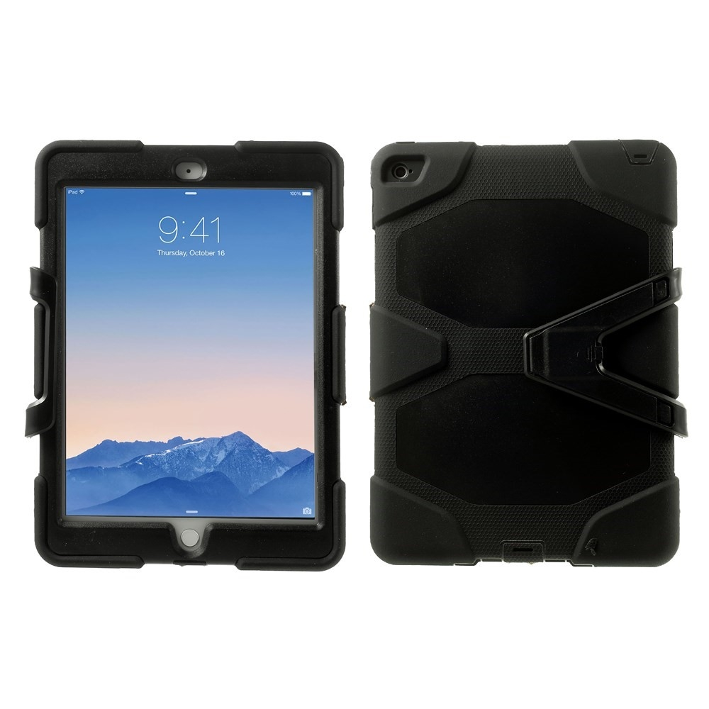 Image of   iPad Air 2 - Military Duty Hybrid cover - Sort