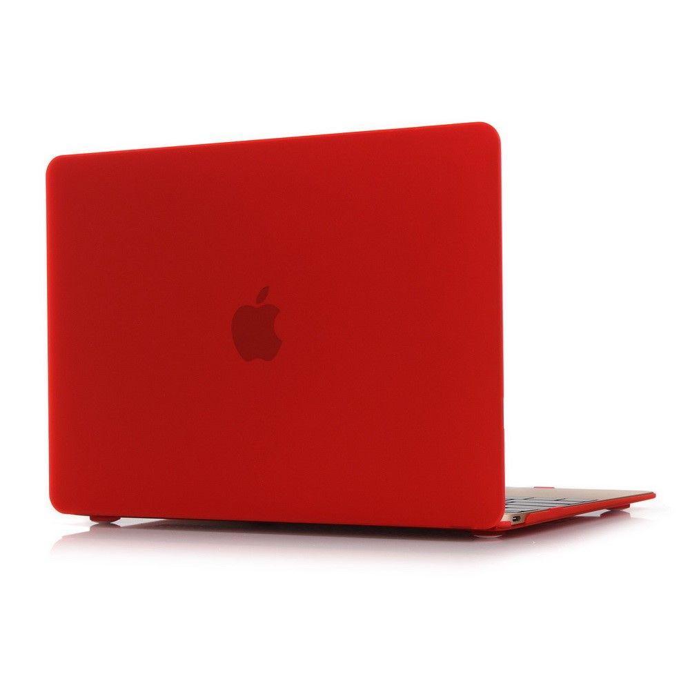 "MacBook 12"" - Mat hardcover - Rød"