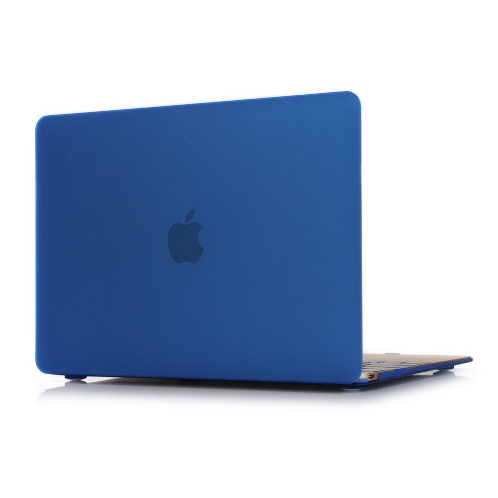 "MacBook 12"" - Mat hardcover - Mørkeblå"