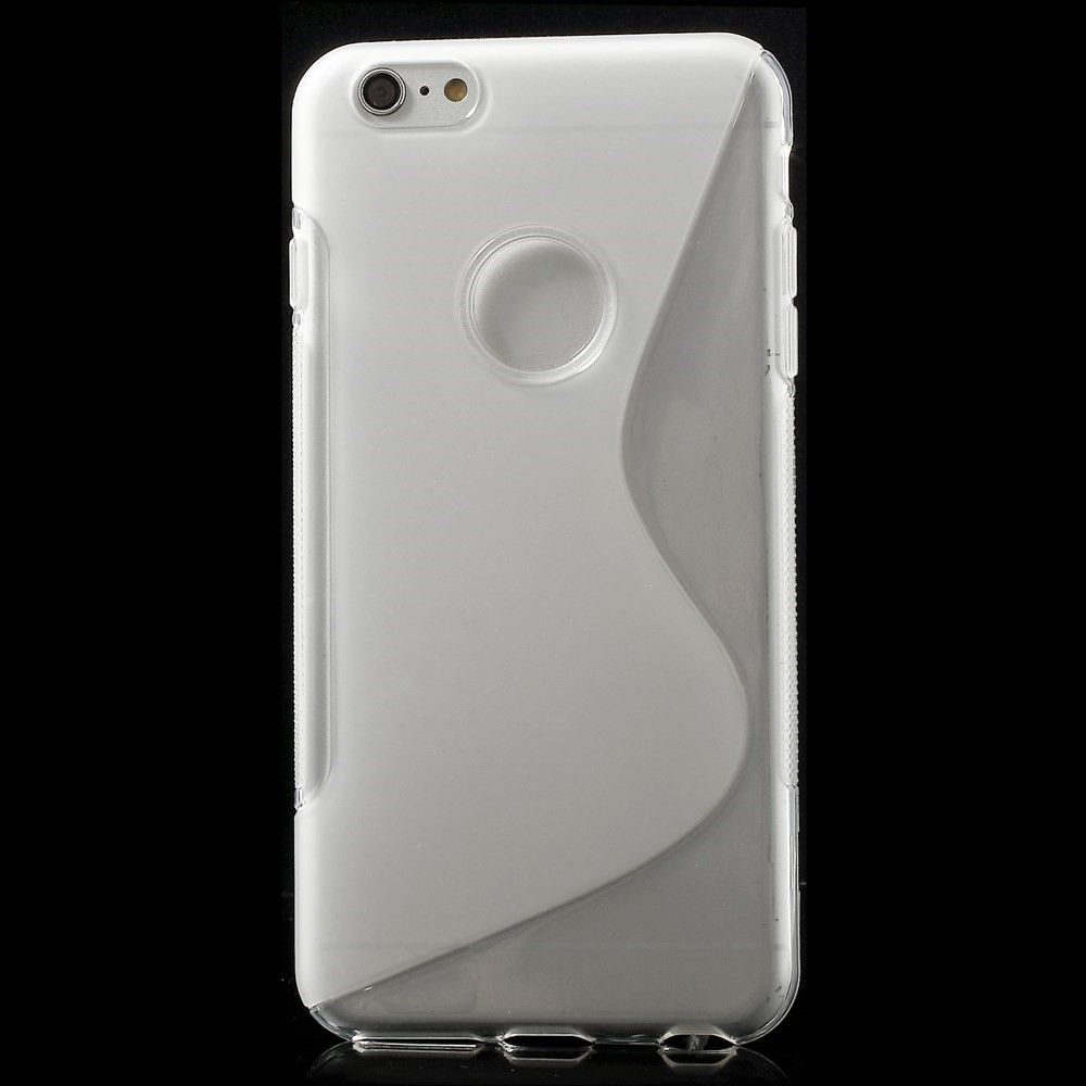 Image of   iPhone 6 Plus / 6s Plus - TPU blødt cover S-Line design - Transparent