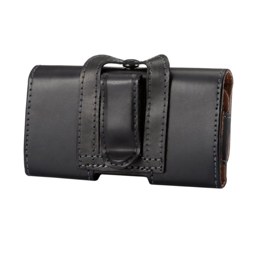 """Image of   Universal bælte taske/cover i pu læder 5.2"""" - Sort"""