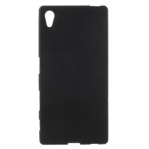 Sony Xperia Z5 / Z5 Dual - Mat Gummi cover/Etui - Sort