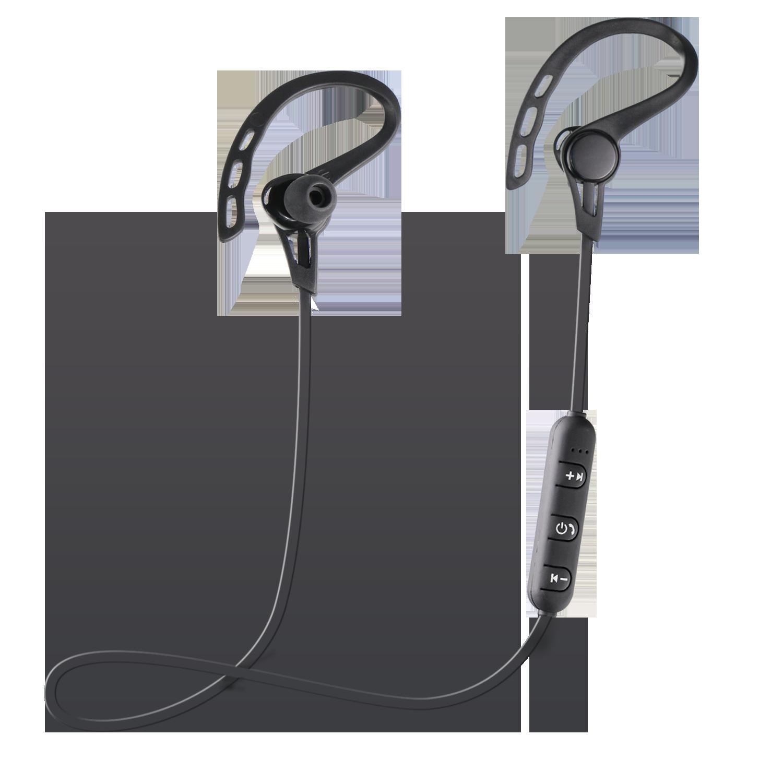 Image of   Jabees Sports Earhook Bluetooth Headphones - Sort