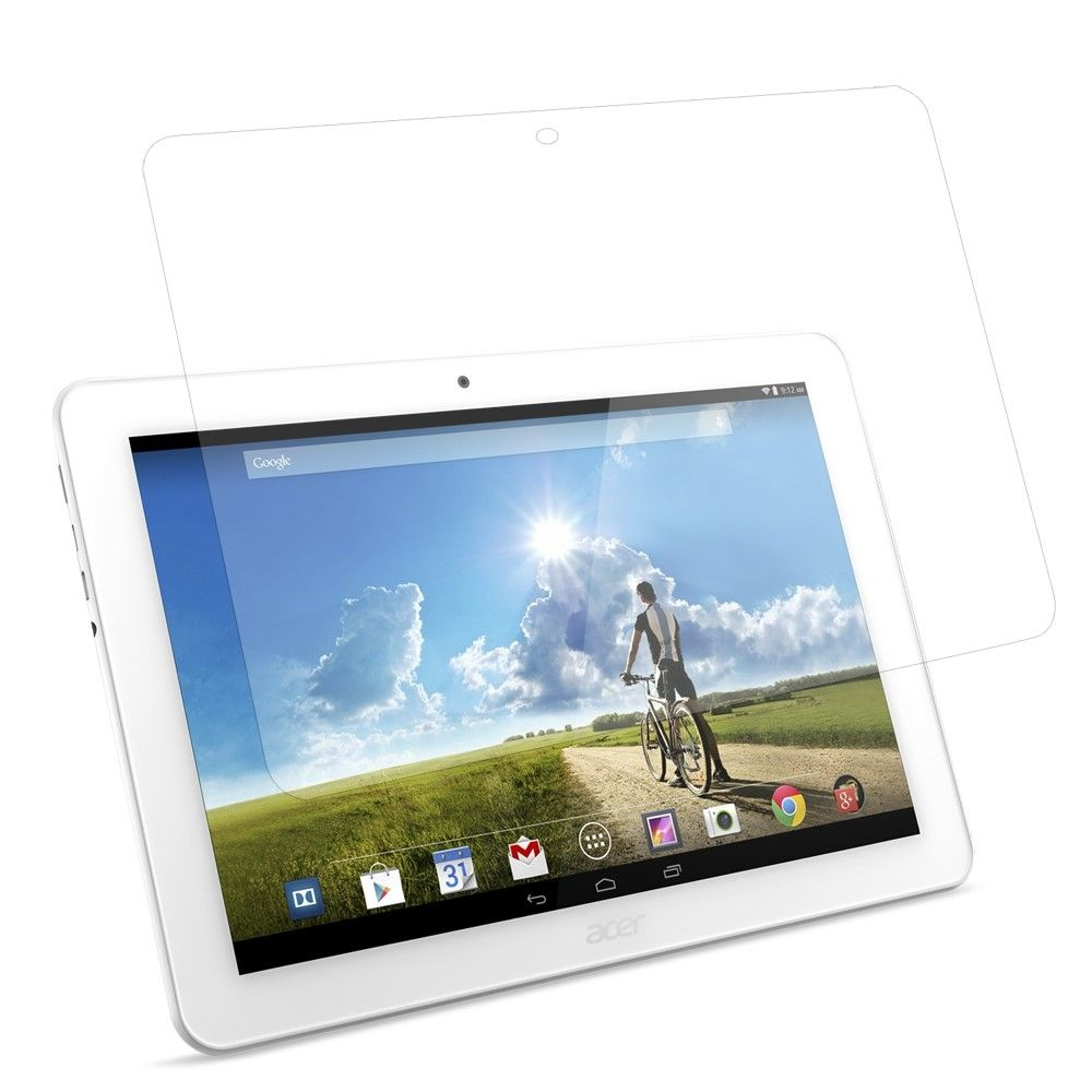 Image of   Acer Iconia Tab 10 A3-A20 - Hærdet panserglas 0,3mm. (Arc Edge)