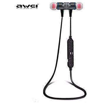 Image of   AWEI A920BL Trådløs Bluetooth 4.0 Sports Stereo Høretelefon - Grå/Blå