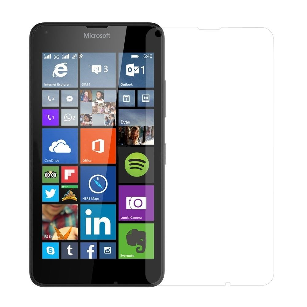Microsoft Lumia 640 - Hærdet panserglas 0,3mm. med Arc Edge