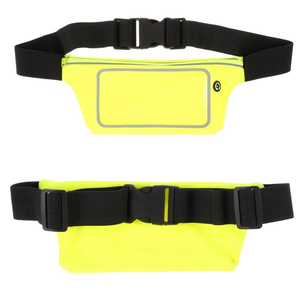 Billede af Bæltetaske med lomme til iPhone/smartphone op til 160mm - Touch skærm - Vandtæt - Grøn