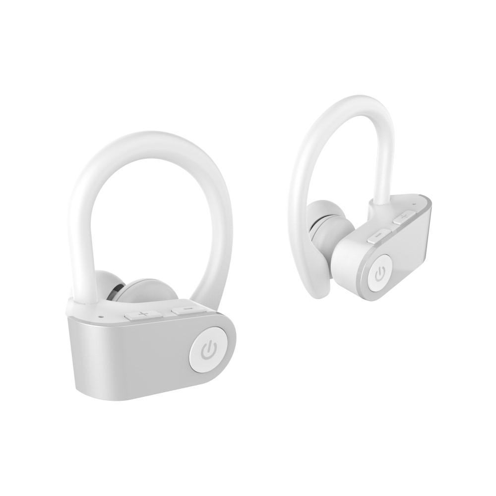 Billede af TWS03 HIFI Bluetooth Sports Høretefoner / Headset - 6D Suround Sound - 9 TIMERS batteritid - Hvid