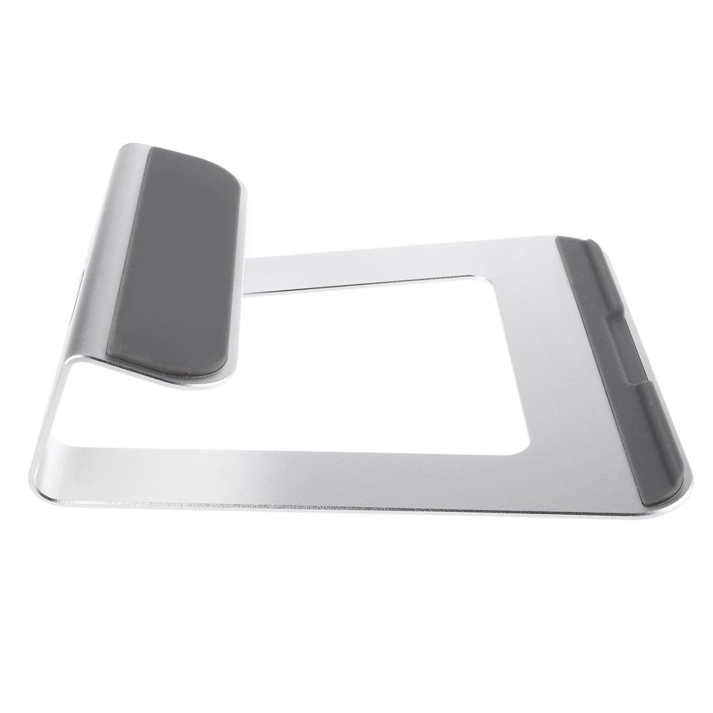 "Image of   Aluminum laptop/macbook/notebook stand 11-15"" - Sølv"