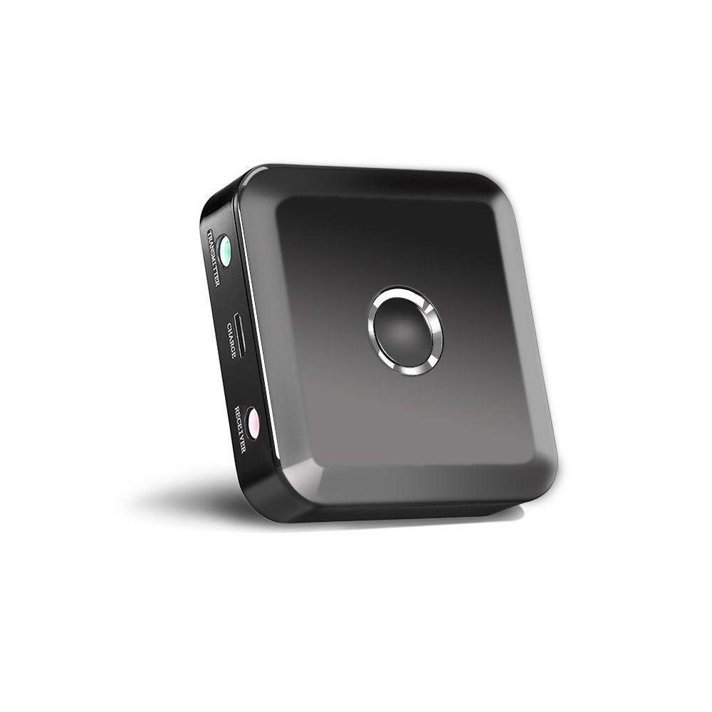 Image of   BHM Dual Link Trådløs Bluetooth 4.0 optical 2-i-1 audio/musik transmitter