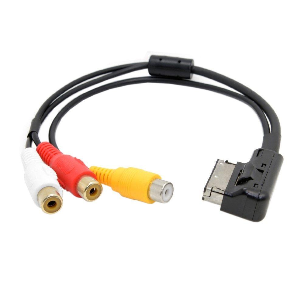 AMI MMI til 3xRCA audio/video adapter - Til Audi A1 A7 A8 + VW
