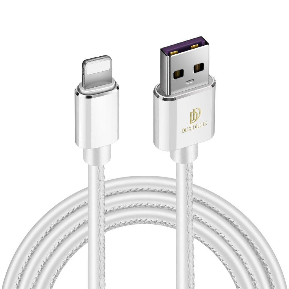 Billede af DUX DUCIS K-MAX Apple Lightning 8 pin oplader kabel 1m - Hvid