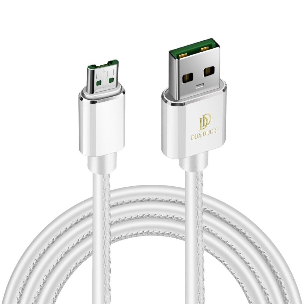 Image of   DUX DUCIS K-MAX microUSB oplader kabel 1m - Hvid