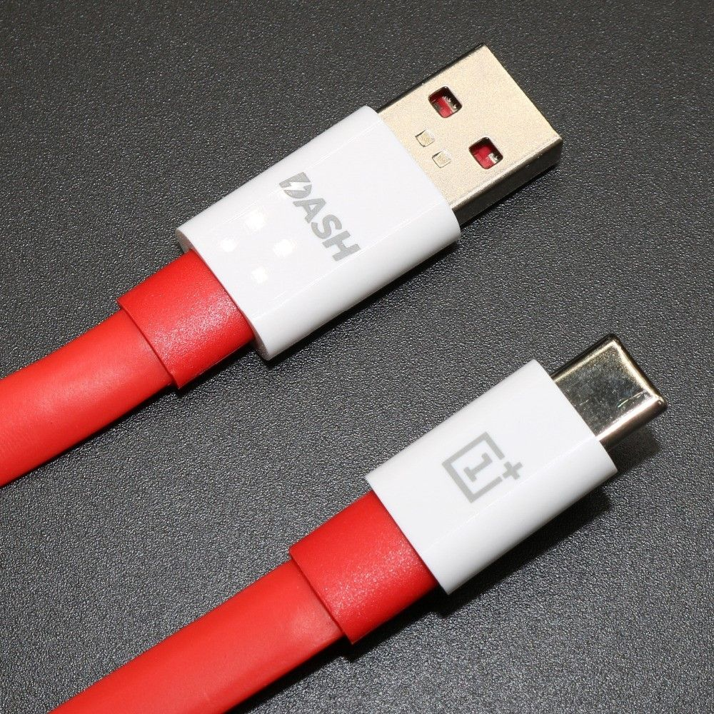 Image of   ONEPLUS Fast Charge Type-C / USB oplader kabel 1 m.