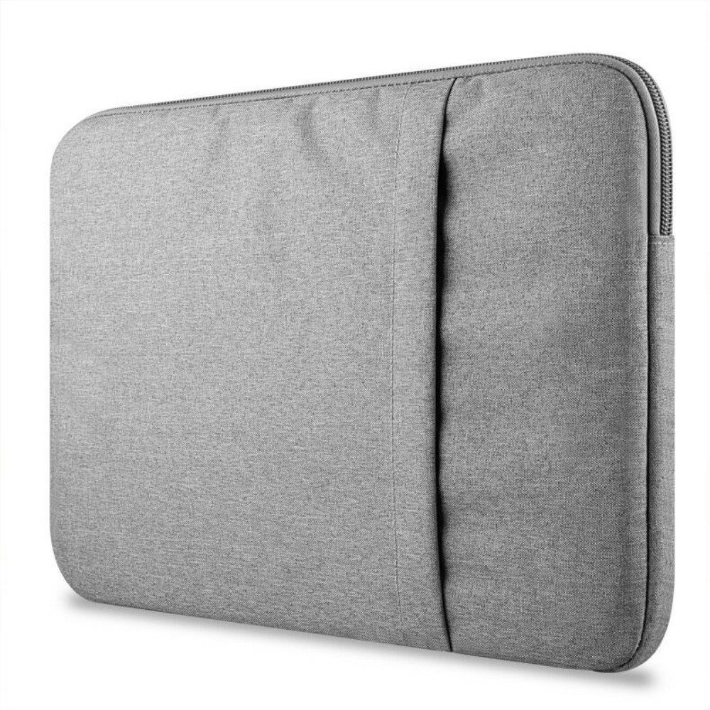 "Image of   13"" Sleeve / etui macbook/chromebook - Lysegrå"