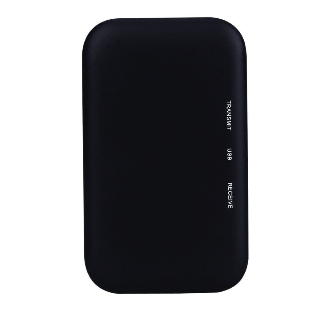 Image of   Bluetooth 2-i-1 Trådløs audio transmitter - Sort
