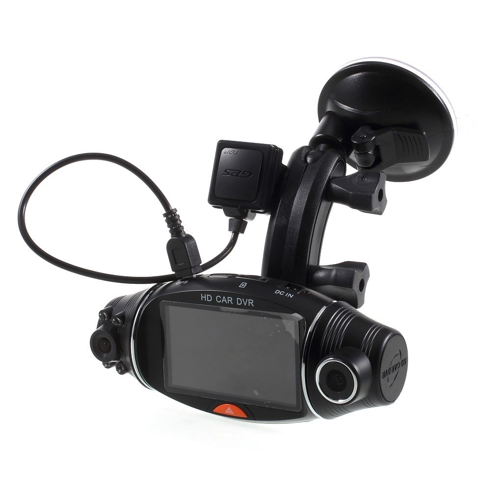"Image of   Dashcam R310 Dual Bilkamera Fuld HD 2.7"" m/Night Vision"
