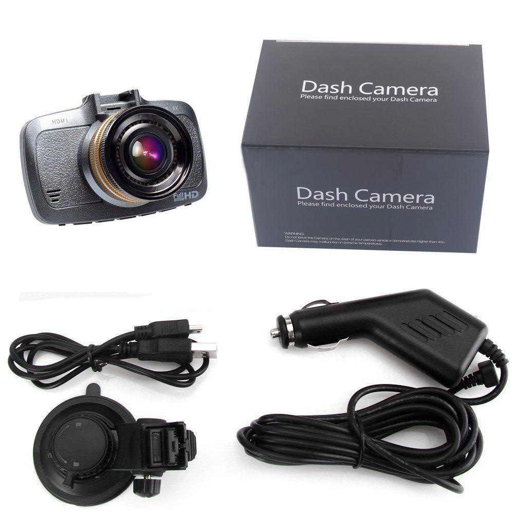 H500 Dash Cam bilkamera fuld HD - Sort