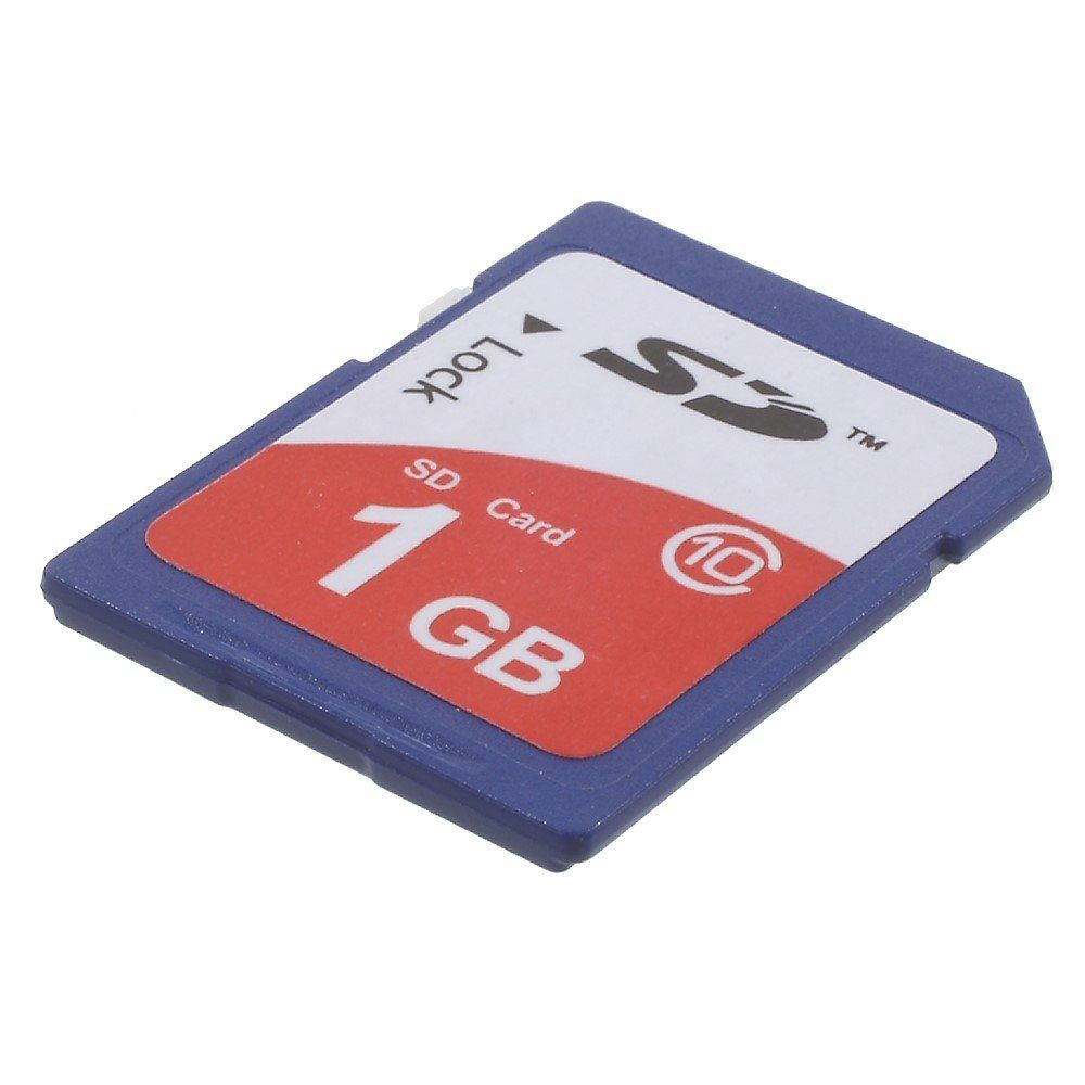 Image of   SDHS High speed hukommelseskort klasse 10 1GB