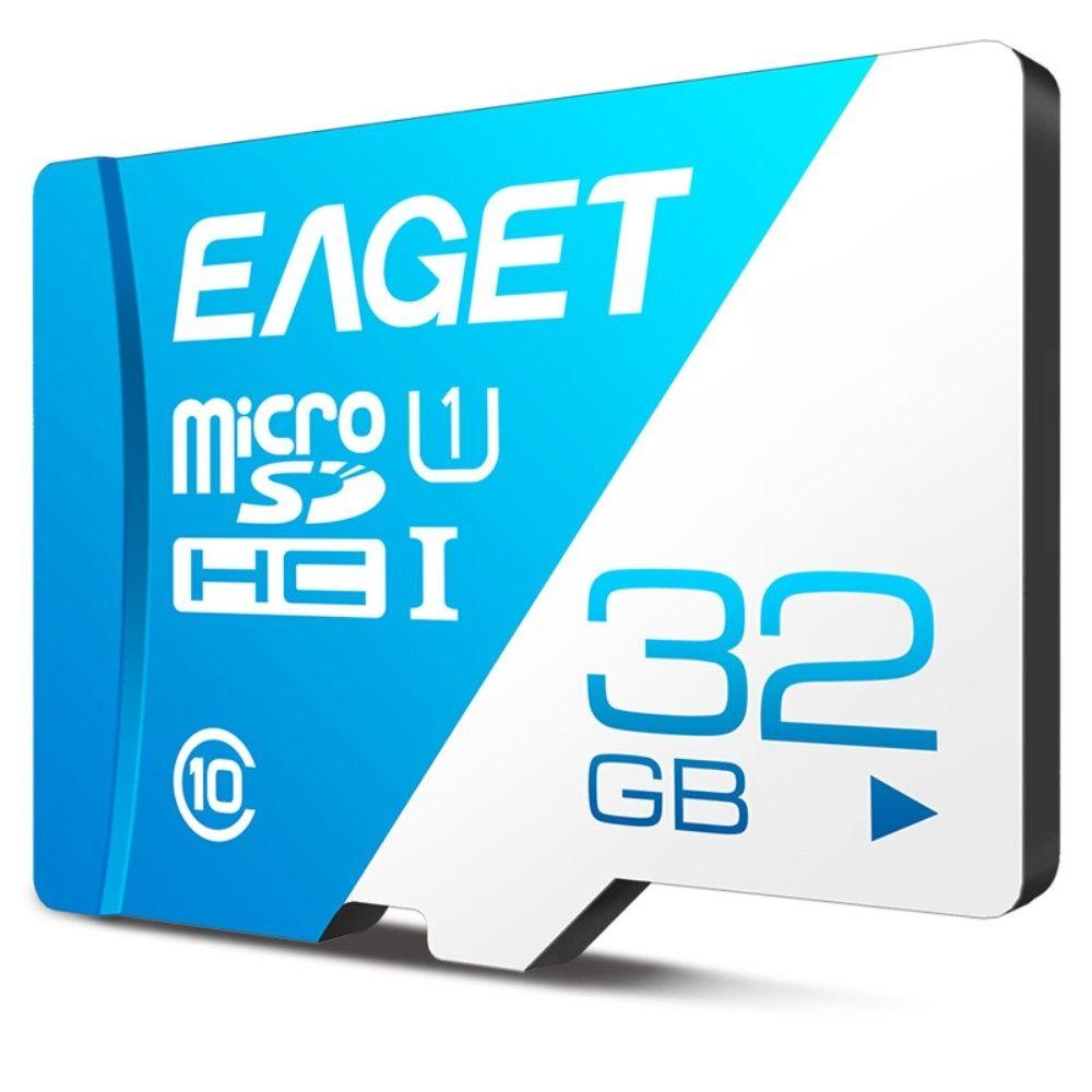 EAGET 32GB Micro SDHC kort Hukommelseskort/memory kort Class 10