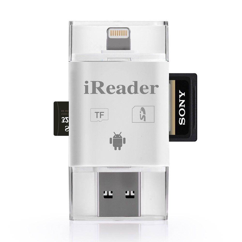 Image of   MicroSD - OTG kortlæser for lighning/android