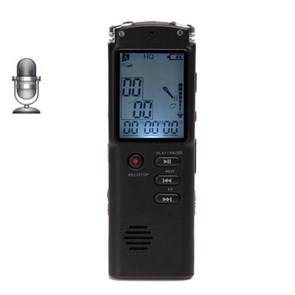 Image of   Diktafon / Voice recorder Mp3 afspiller - 8GB m/LCD skærm