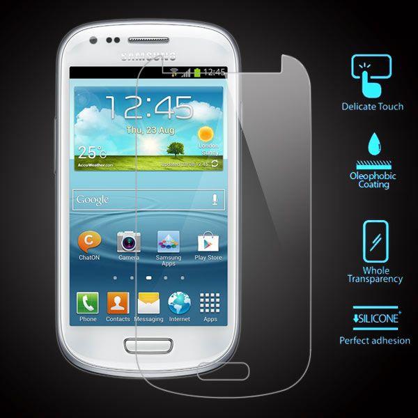 Samsung Galaxy S3 Mini - Hærdet panserglas Ultratynd m/ Arc Edge