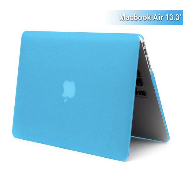 "MacBook Air 13"" - Mat Hard Etui - Lyseblå"