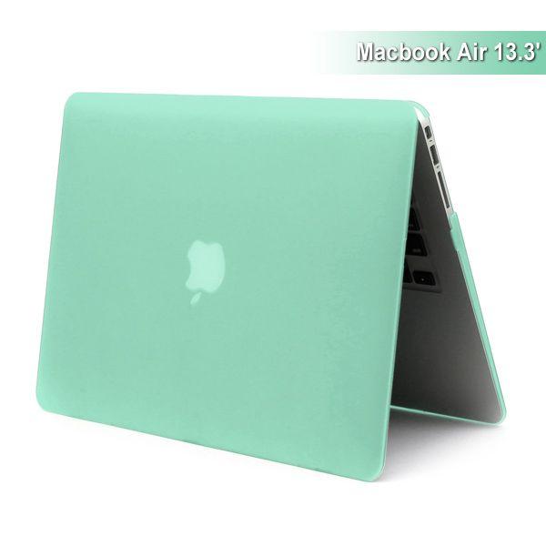 "Image of   MacBook Air 13"" - Mat Hard Etui - Grøn"