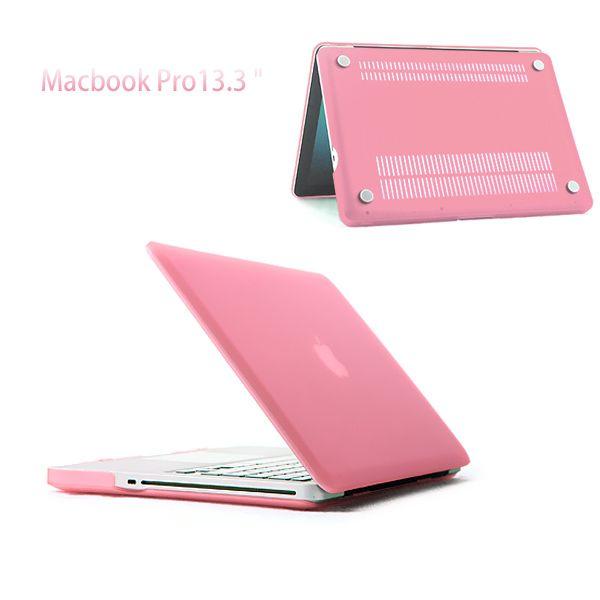 "MacBook Pro 13"" (2009-2012) - Mat Hard Etui - Lyserød"