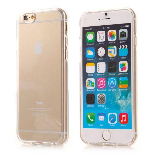 Image of   iPhone 6/6S - Transparent TPU Cover - Hvid