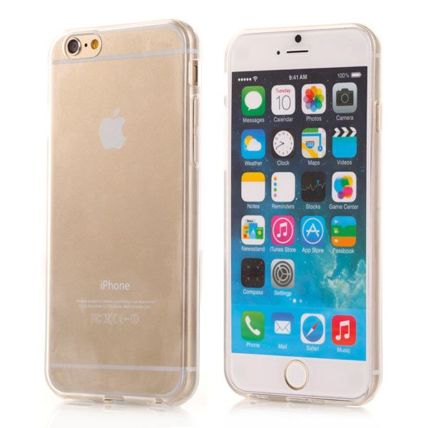 Image of   iPhone 6/6S - Ultra Tynd Transparent TPU Back Cover