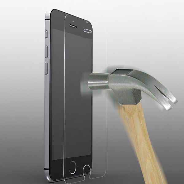 iPhone 6/6S - Ultra Tynd Hærdet Panserglas