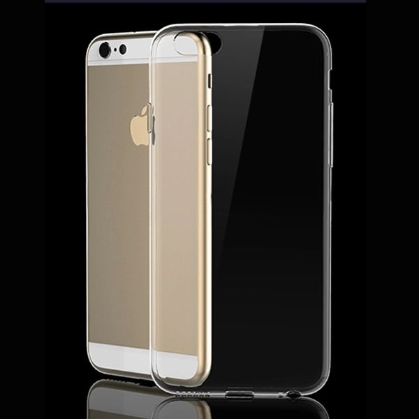Image of   iPhone 6 Plus/6S Plus - Ultra Tynd Transparent TPU Cover - Hvid