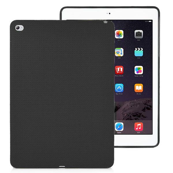 Image of   iPad Air 2 - Fresh Color TPU Back Cover - Sort