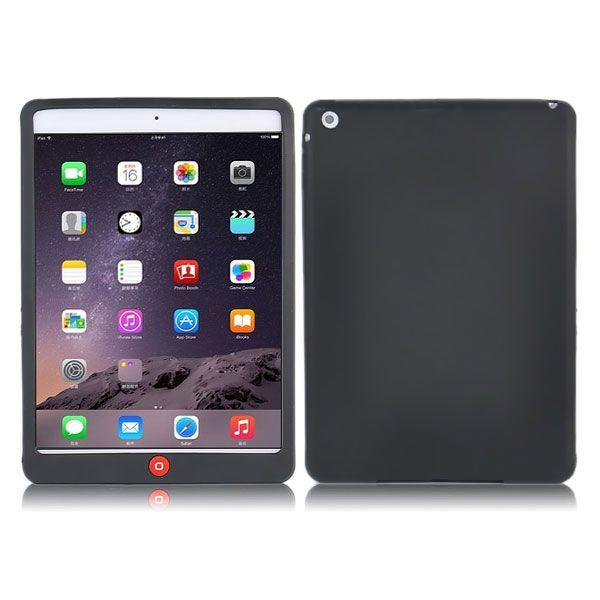 Image of   iPad Air 2 - Blød Stødsikker Silikone Cover - Sort