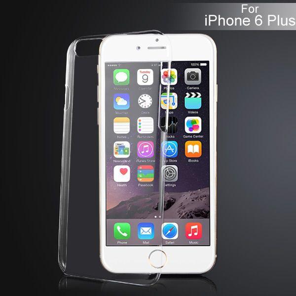 Image of   iPhone 6 Plus - Spinkel Hard Back Cover - Transparent